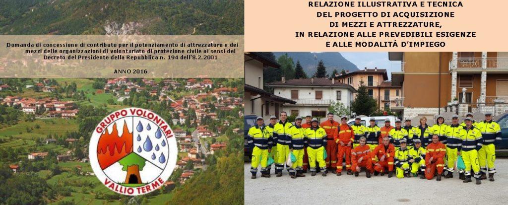 Contributi alle organizzazioni di volontariato di Protezione Civile