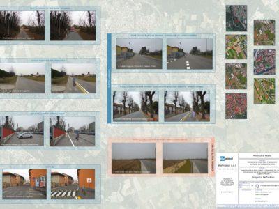 Tav.10 - Fotoinserimenti pista ciclabile Castano Cuggiono