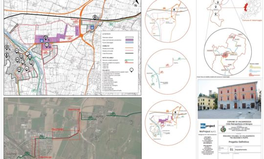 Progetto definitivo_Percorsi ciclabili di collegamento tra Bazzano e Muffa