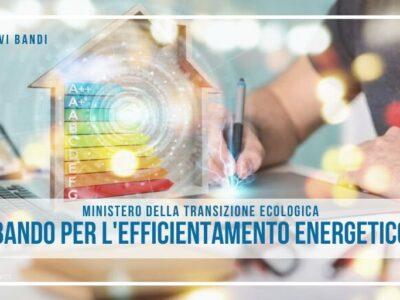 Bando interventi per l'efficientamento energetico
