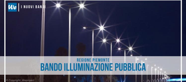 Piemonte illuminazione pubblica