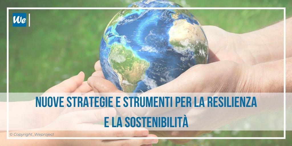 Resilienza e sostenibilità