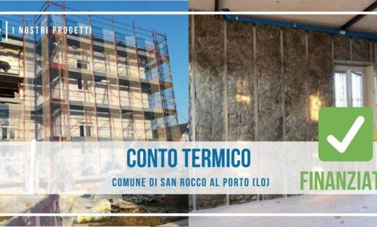 conto termico San Rocco al Porto