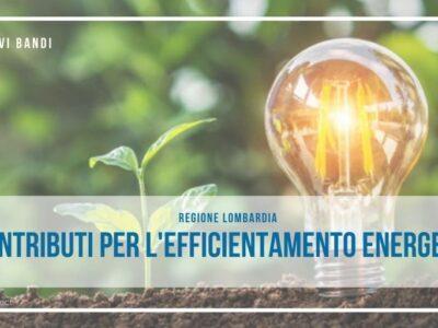 Ri-Genera contributi per l'efficientamento energetico